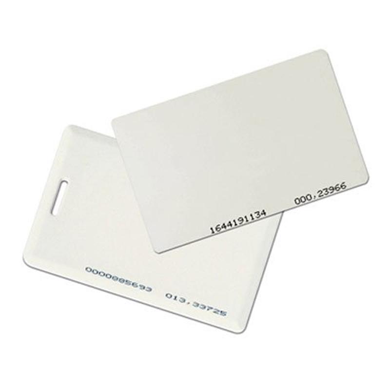 Проксимити карточка CARD EM прямоугольная белая(EMarine) 11458
