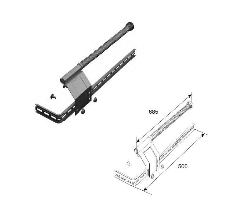 Комплект L/R пружинного амортизатора 11483