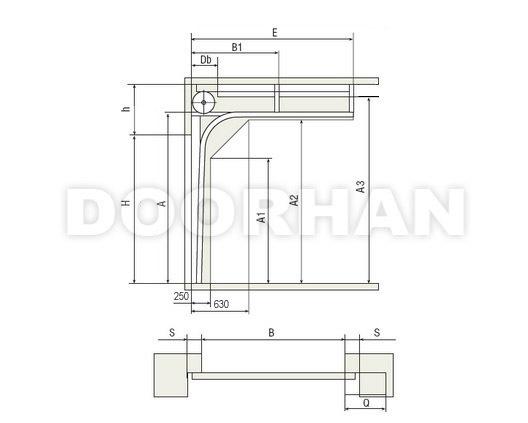DOORHAN RSD02 (Торсионный механизм) от 3000 от 2000 (ширина*высота)