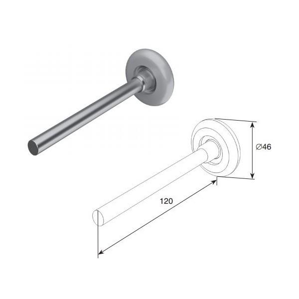Ролик (120 мм) (шт.) 11140