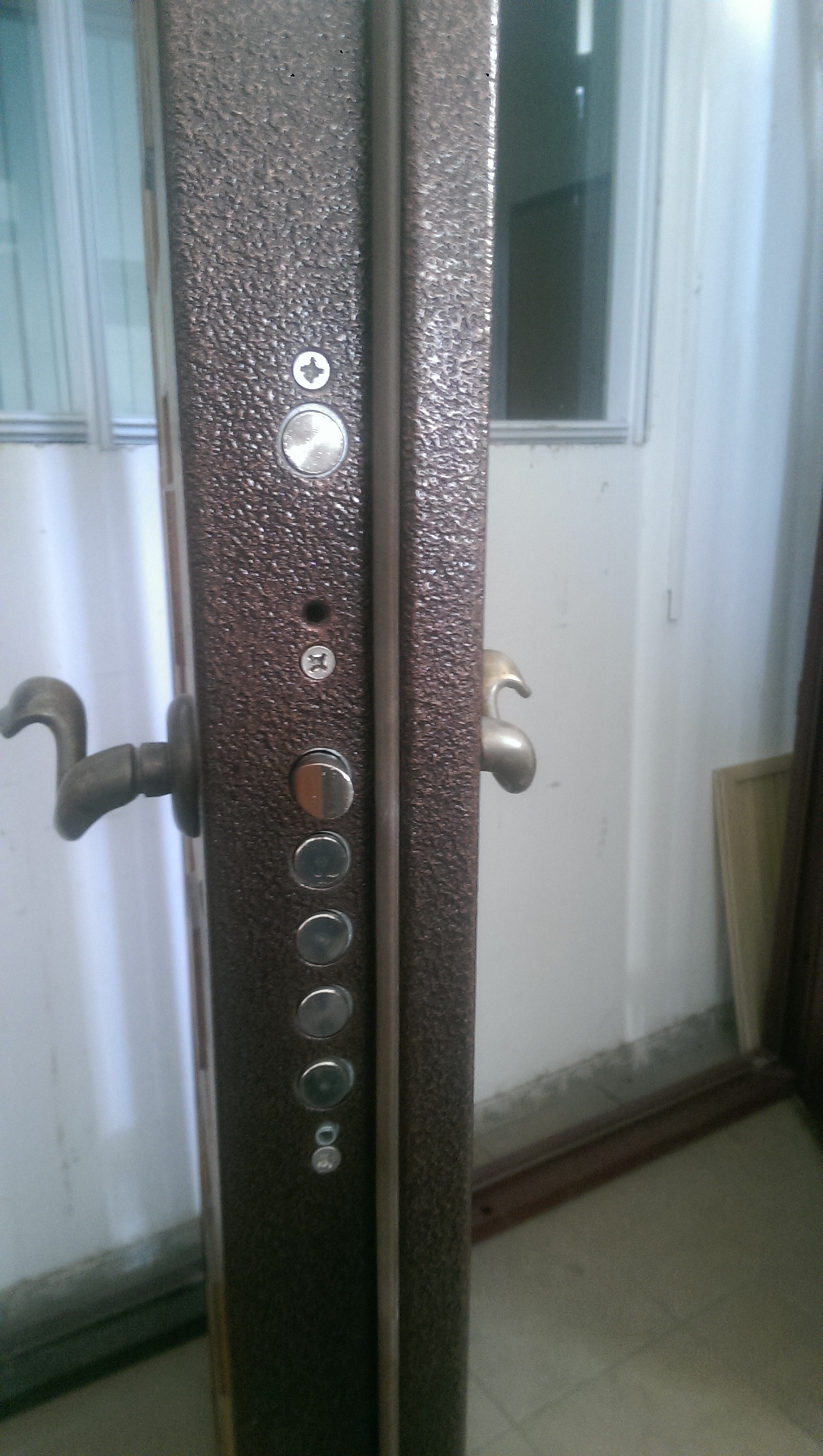 """Входная дверь """"Rayal"""" (массив с 2-х сторон), 2080х950 правая"""