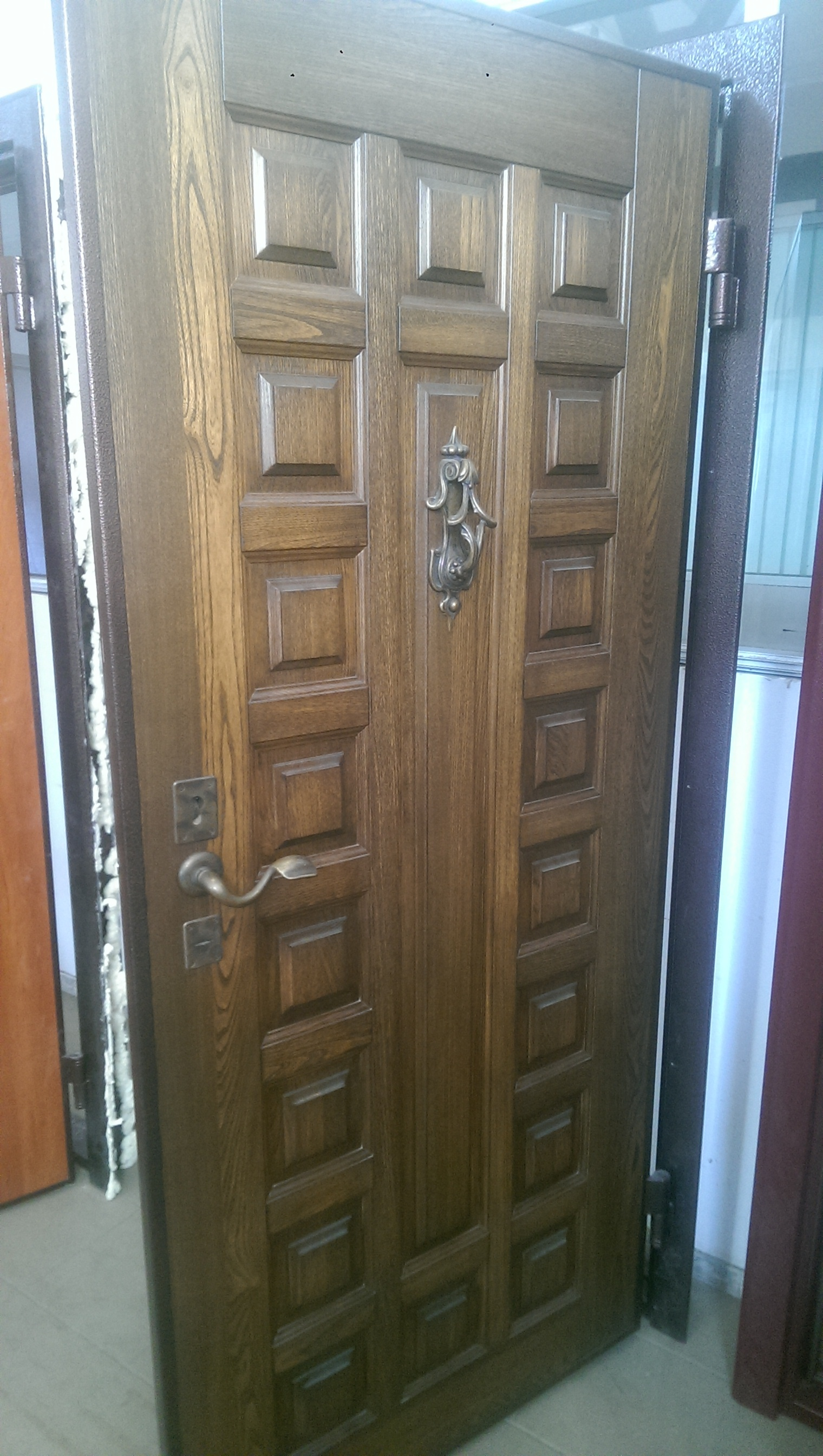 """Входная дверь """"Rayal"""" (массив с 2-х сторон), 2080х950 правая 11539"""