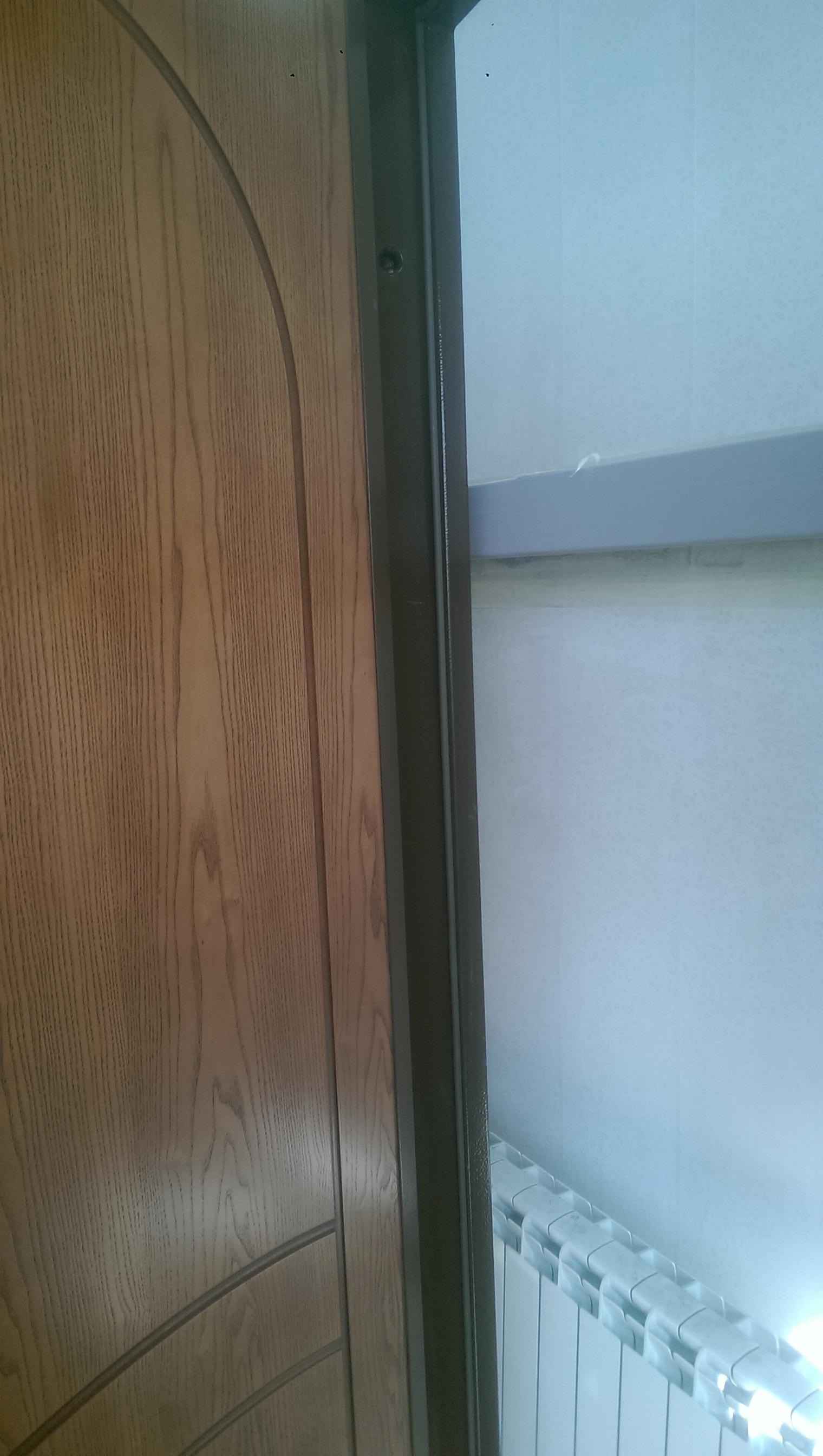 """Входная дверь """"Гранит""""  2350х880 левая с глухой фрамугой"""