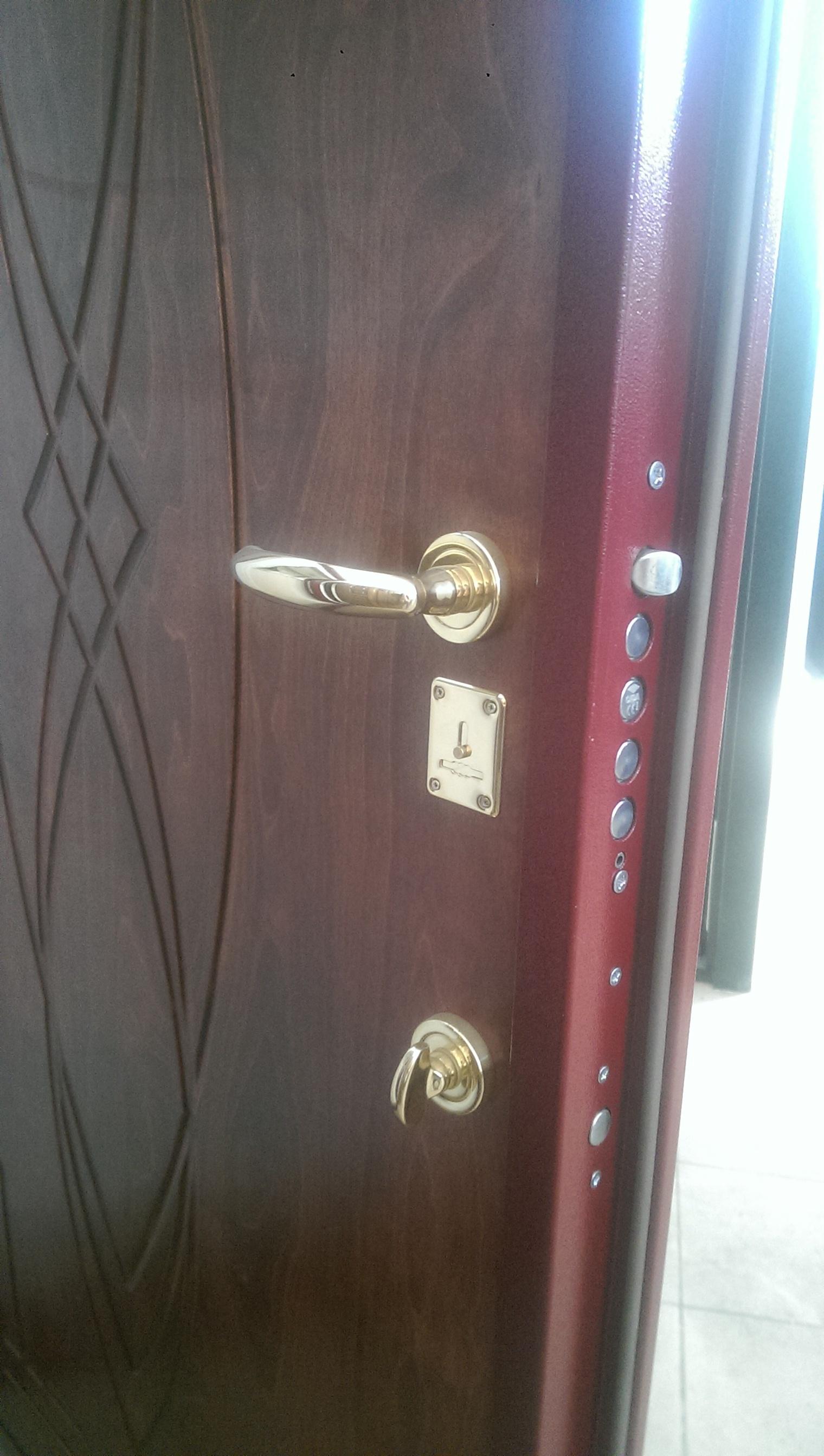 """Входная дверь """"Гранит"""" 2180х910 правая"""