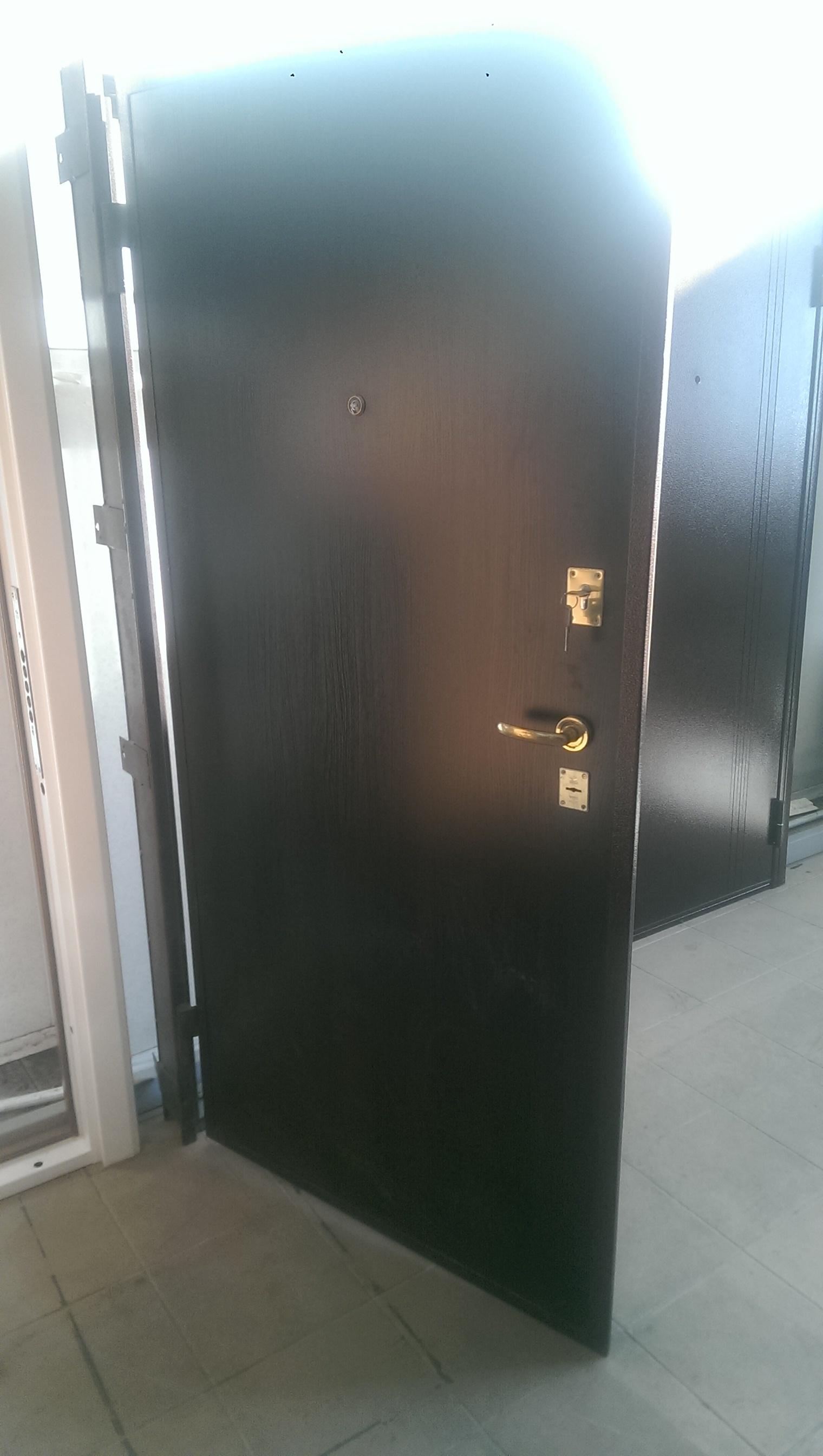 """Входная дверь """"Практик"""" 2020х990 левая 11572"""