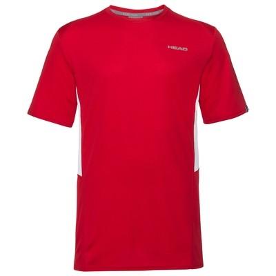 Head Boys Club Tech T-Shirt - Red