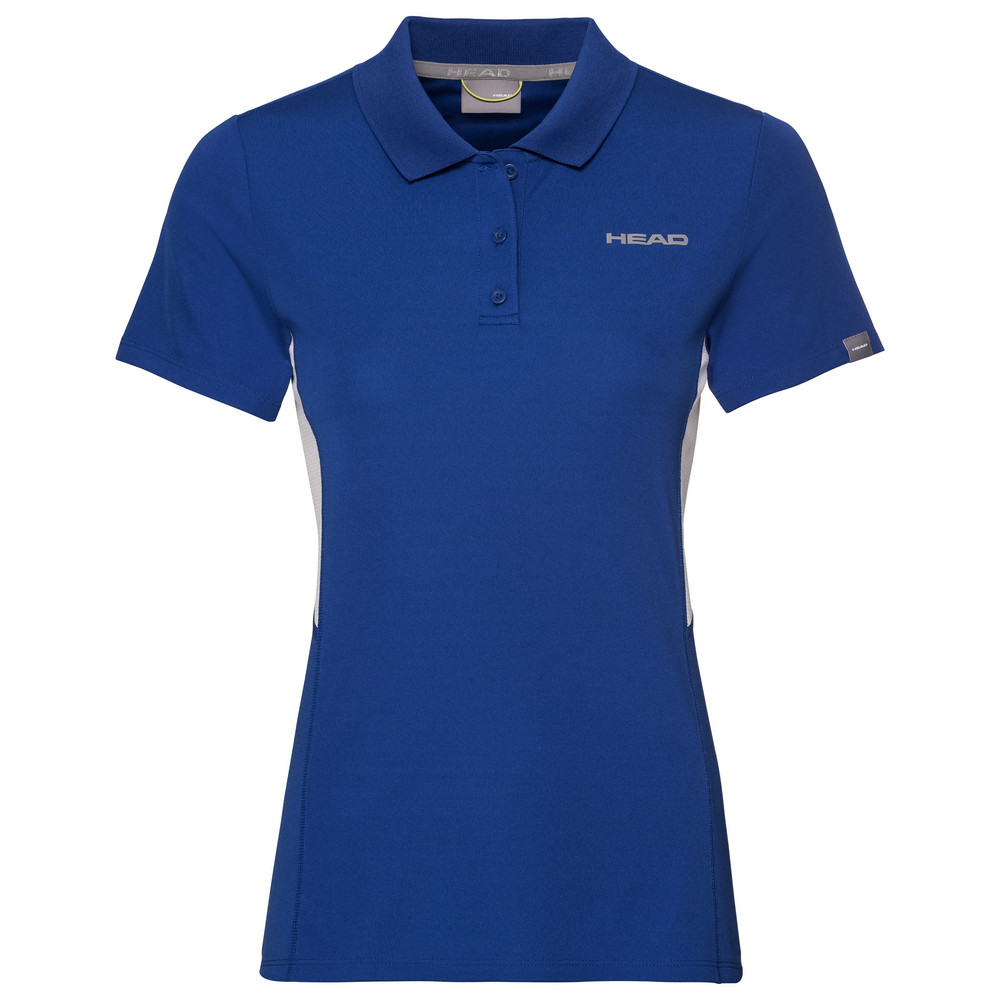Head Girls Club Tech Polo - Royal Blue