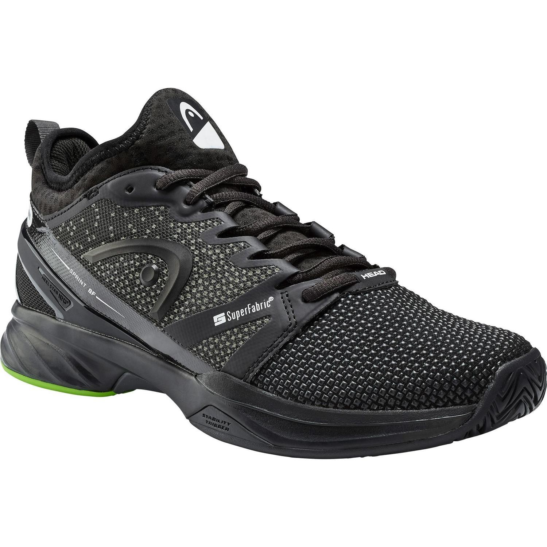 Head Sprint SF Men's Tennis Shoes - Black/Green