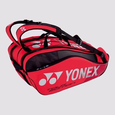 Yonex Pro 9 Racket Bag - Flame Red