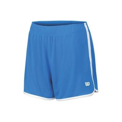 Wilson Mesh Tennis 3.5 Shorts - Neptune Blue
