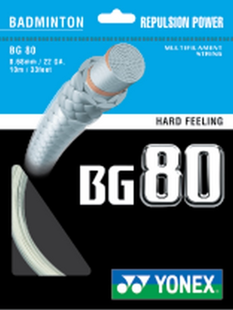 Yonex BG80 Badminton String Set