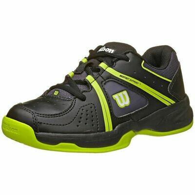 Wilson Envy Junior Tennis Shoes - Black