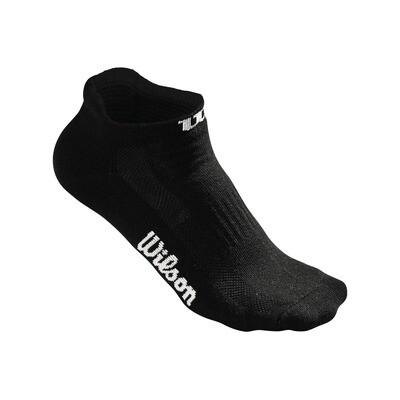 Wilson Ladies No Show Socks Black - 3 Pairs