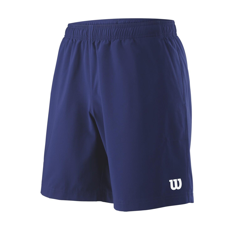 Wilson Mens Team 8 Short  - Blue Depth