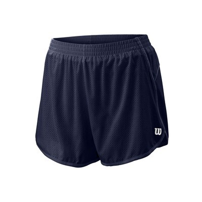 Wilson Womens Competition Woven 3.5 Short - Peacoat