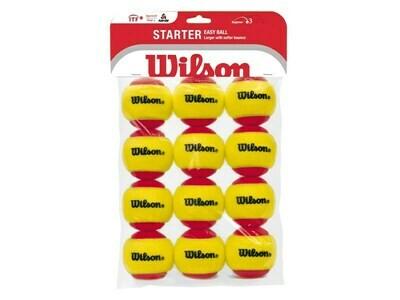 Wilson Starter Red Tennis Balls - 12 Pack