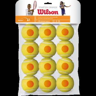 Wilson Starter Orange Tennis Balls - 12 Pack