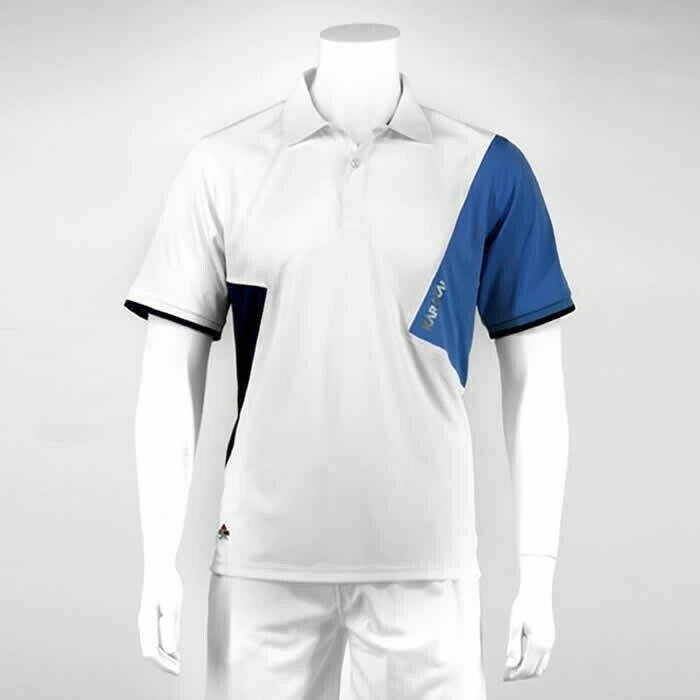 Karakal Dijon Polo - White/Blue