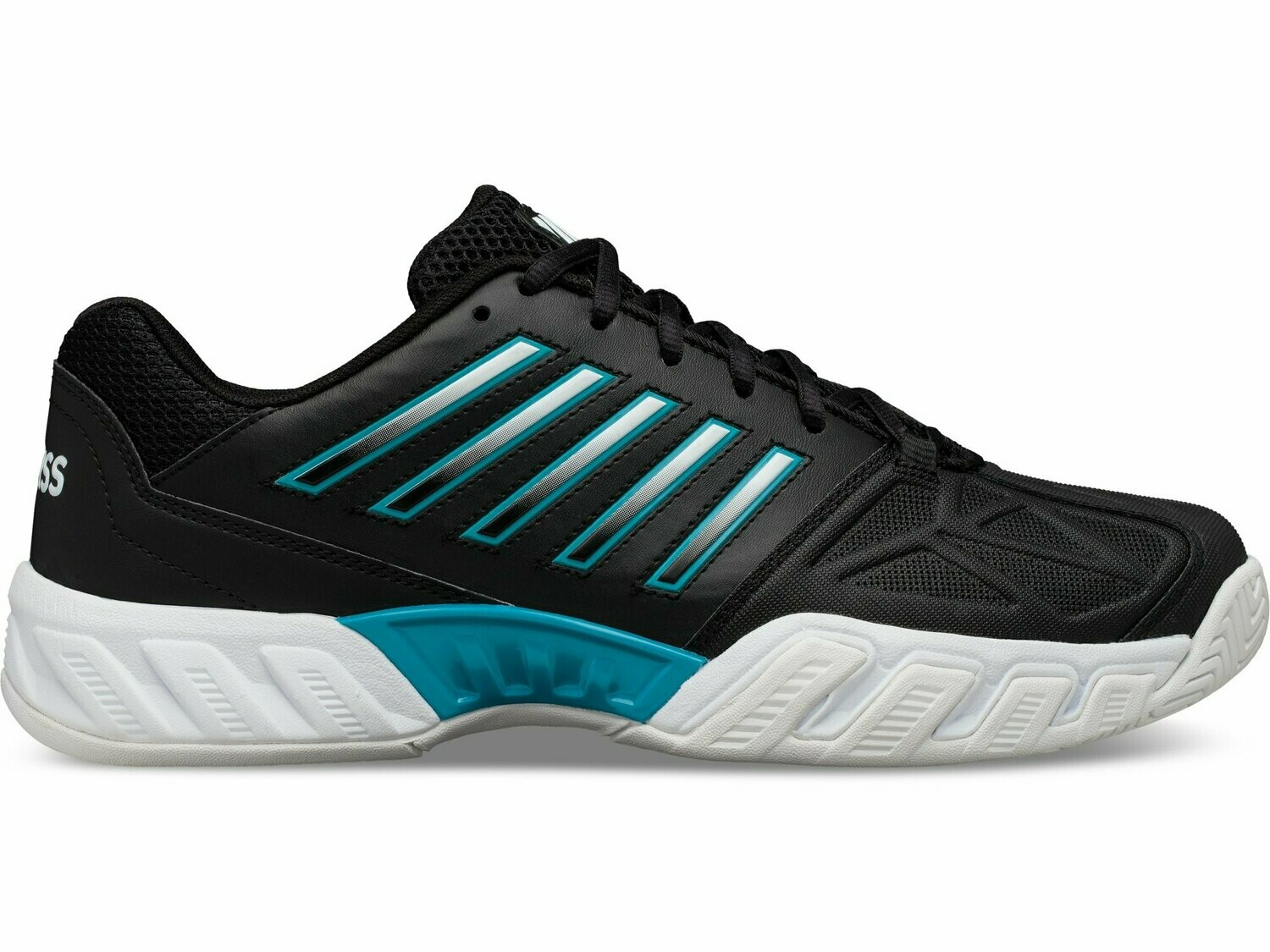 K-Swiss Bigshot Light 3 - Black/White/Algiers Blue