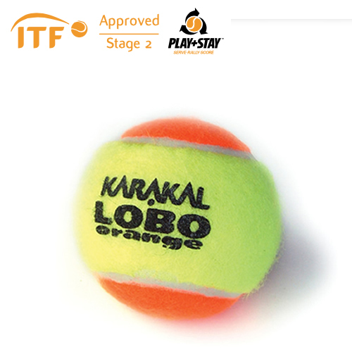 Karakal Mini Orange Tennis Balls - 1 Dozen