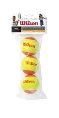 Wilson Orange Transition Mini Tennis Balls (3 Pack)