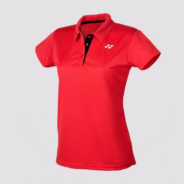 Yonex Ladies Team Polo - Red