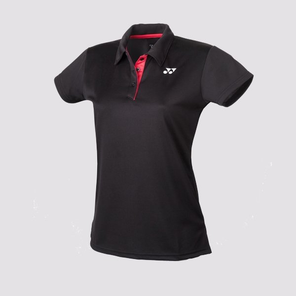 Yonex Ladies Team Polo - Black