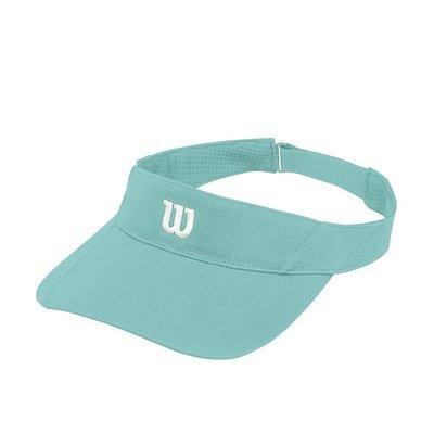 Wilson Rush Knit Ultralight Visor - Aruba Blue