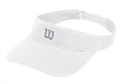 Wilson Rush Knit Ultralight Visor - White