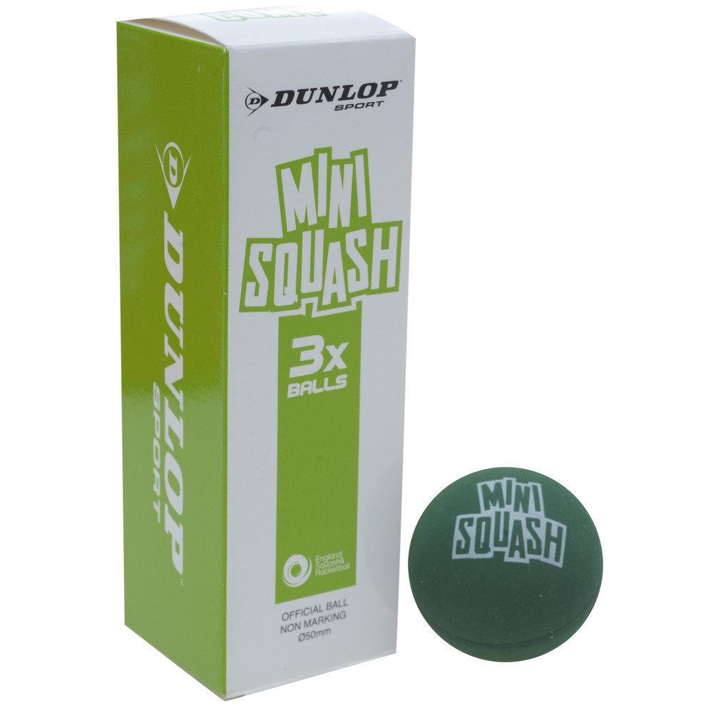 Dunlop Mini Competition Squash Ball - Box of 3