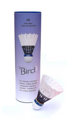 Ashaway Bird2 Badminton Shuttlecock
