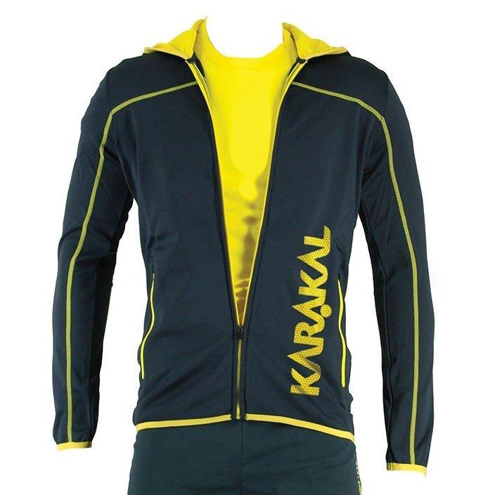 Karakal Pro Tour Hooded Jacket - Graphite