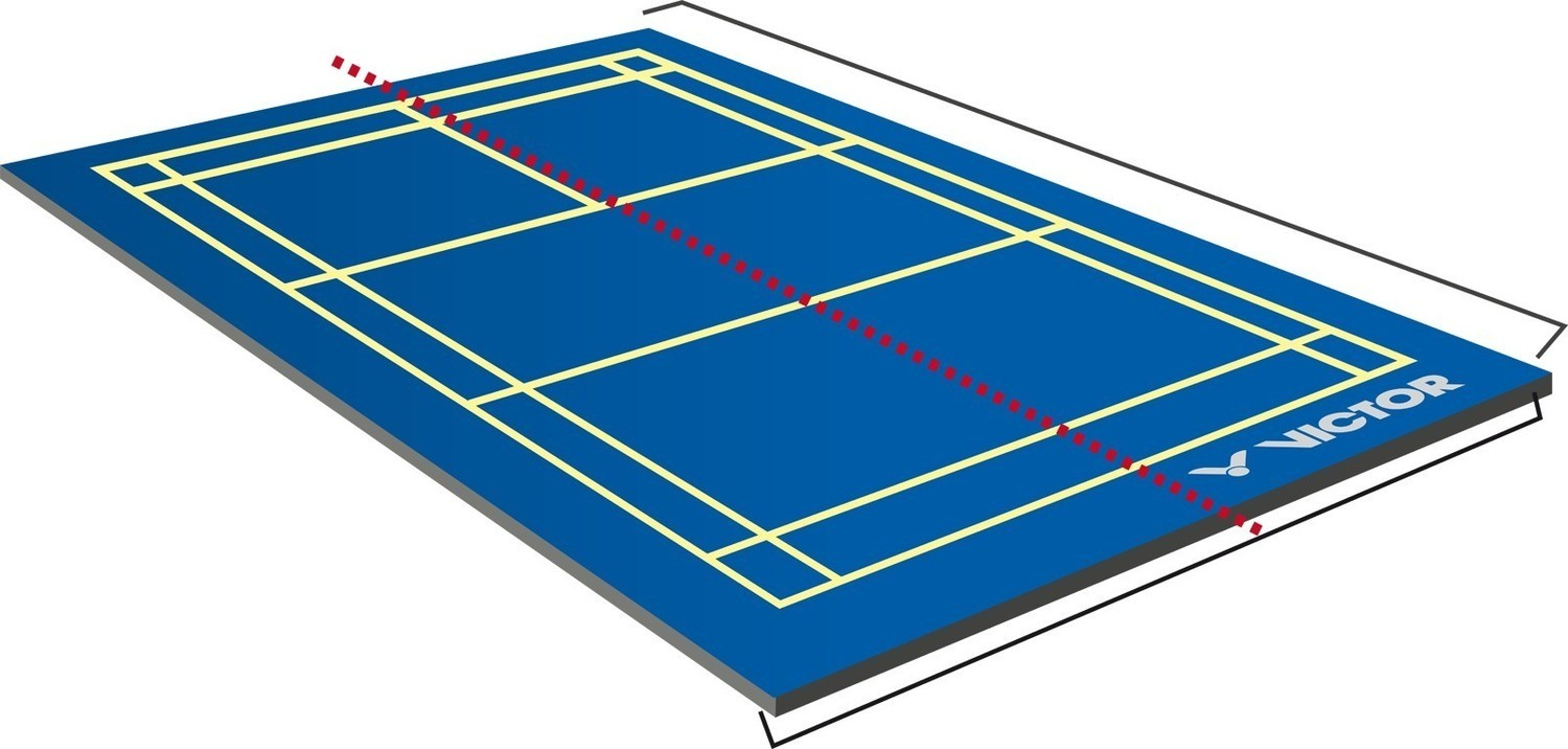 Victor Badminton Court Performance Mobile Mat