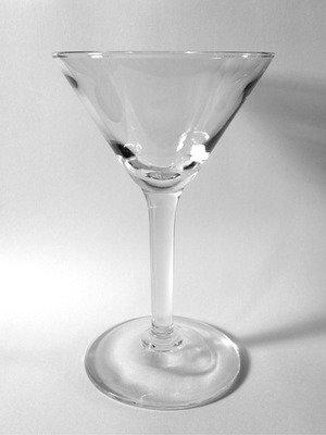 Cocktail, V-shaped Martini style 5 oz