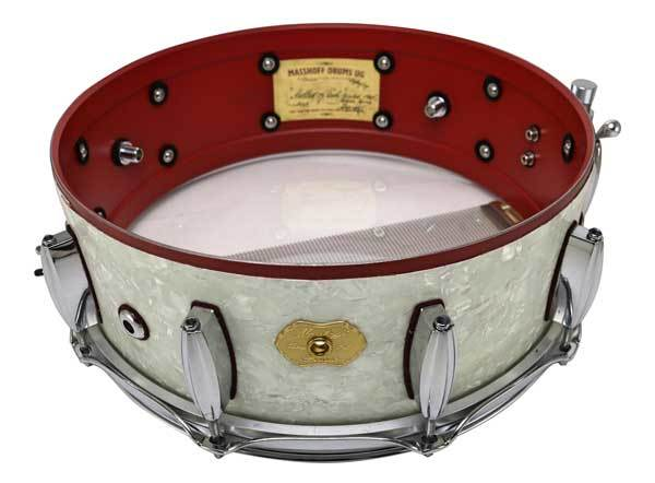 Masshoff Drums Maple Series / Poinciana White Pearl