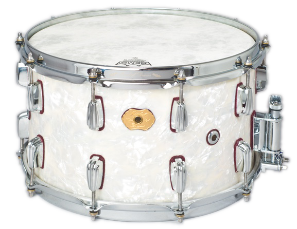 Masshoff Drums Maple Series / Big Chief White Pearl