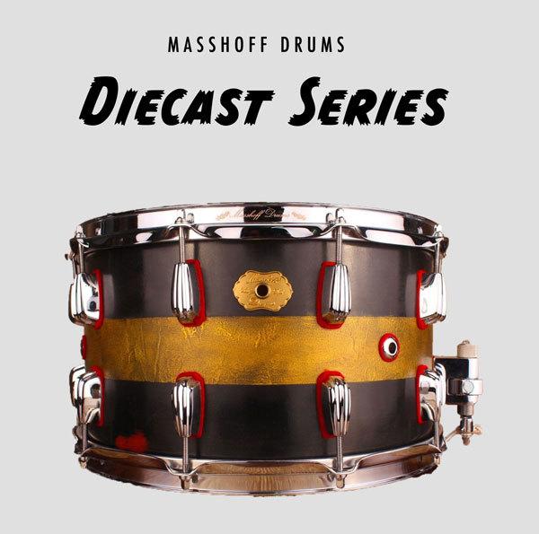 "Masshoff Drums 14""x 08"" Premium Stahl Snare Drum ""Big Chief Steel / Duco King"" 00050"