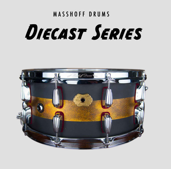 "Masshoff Drums Diecast Series | Premium Stahl Snare Drum ""Avalon Steel / Duco"" 00055"