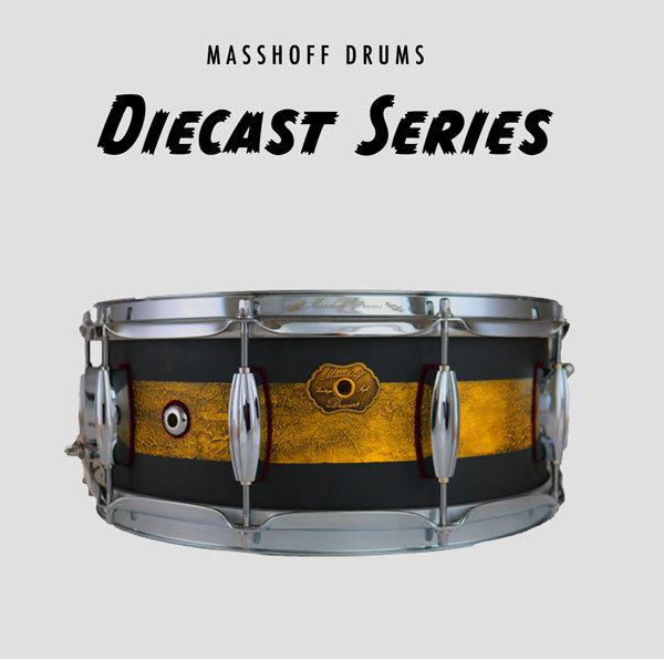 "Masshoff Drums 14""x 5.5"" Premium Stahl Snare Drum ""Poinciana Steel  / Duco"" 00075"