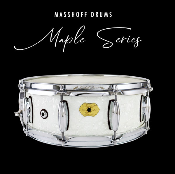 Masshoff Drums Maple Series / Poinciana White Pearl 00068