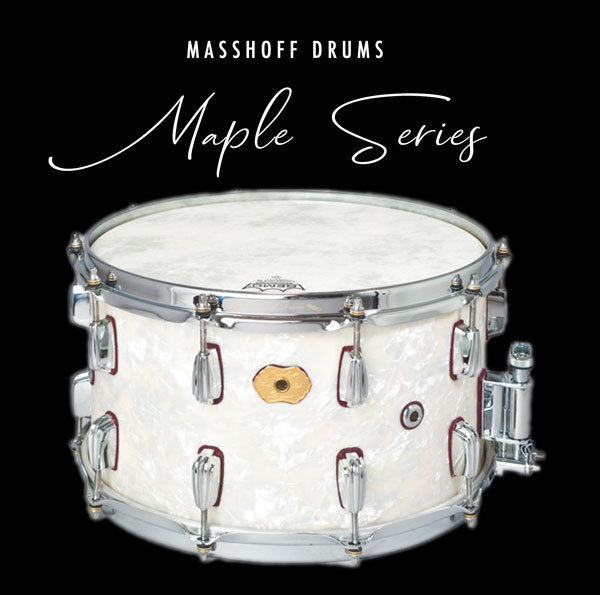 Masshoff Drums Maple Series / Big Chief White Pearl 00069