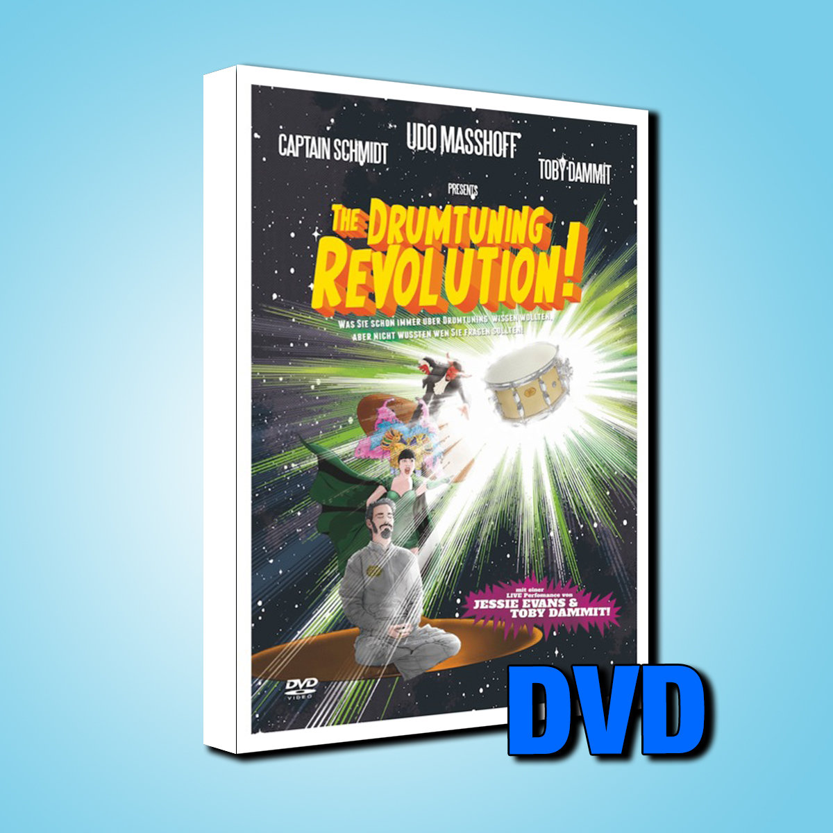 The Drumtuning Revolution / DVD / German Language only