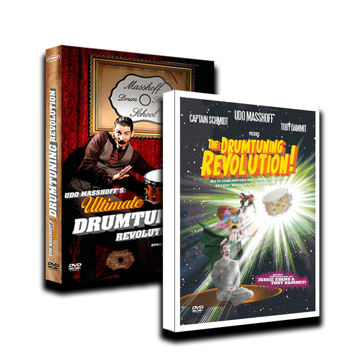 The Drumtuning Revolution Bundle [2 x DOWNLOAD / DEUTSCH]