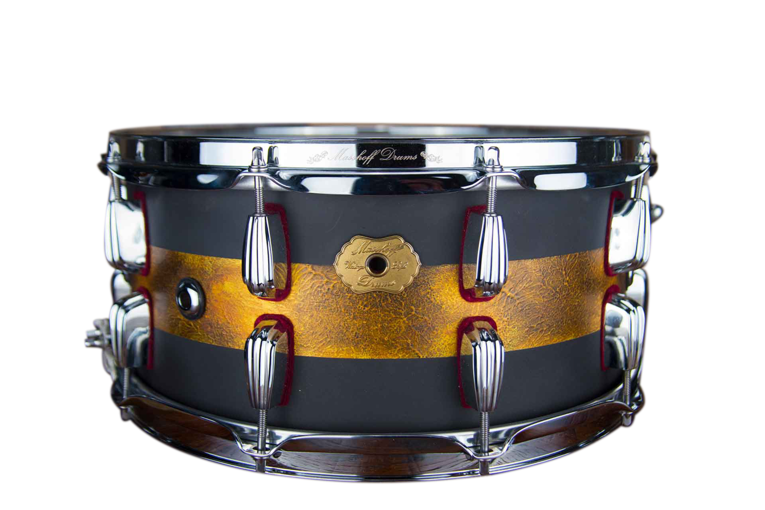 "Masshoff Drums 14""x 6.5"" Premium Snare Avalon / Duco King / Dye Cast"