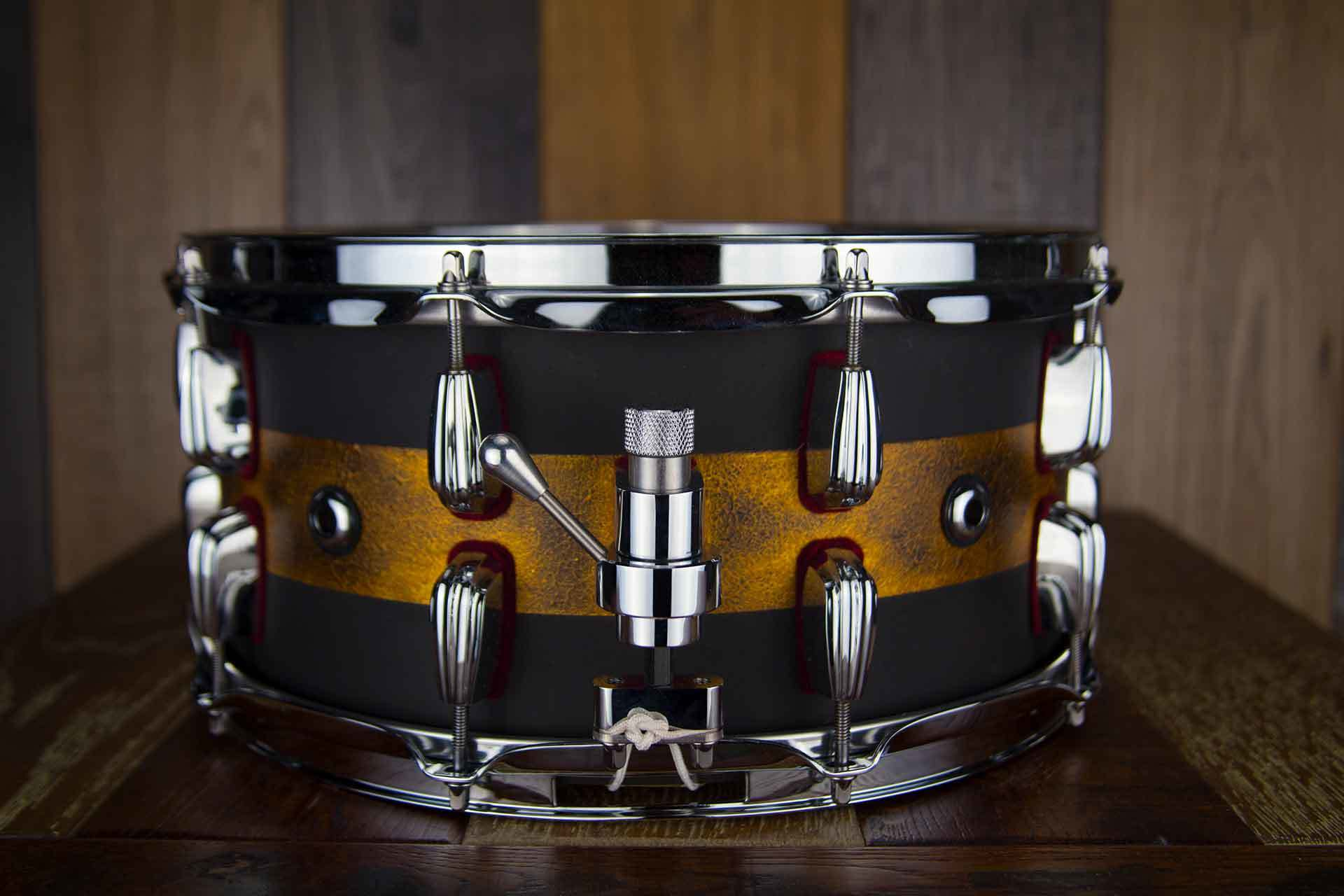 "Masshoff Drums Diecast Series | Premium Stahl Snare Drum ""Avalon Steel / Duco"""