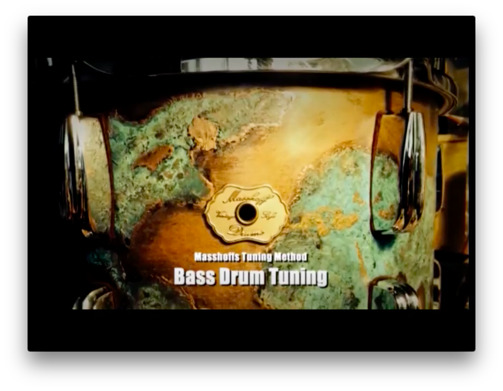Single Video Lesson: Bass Drum Tuning (DOWNLOAD / ENGLISH) 00058