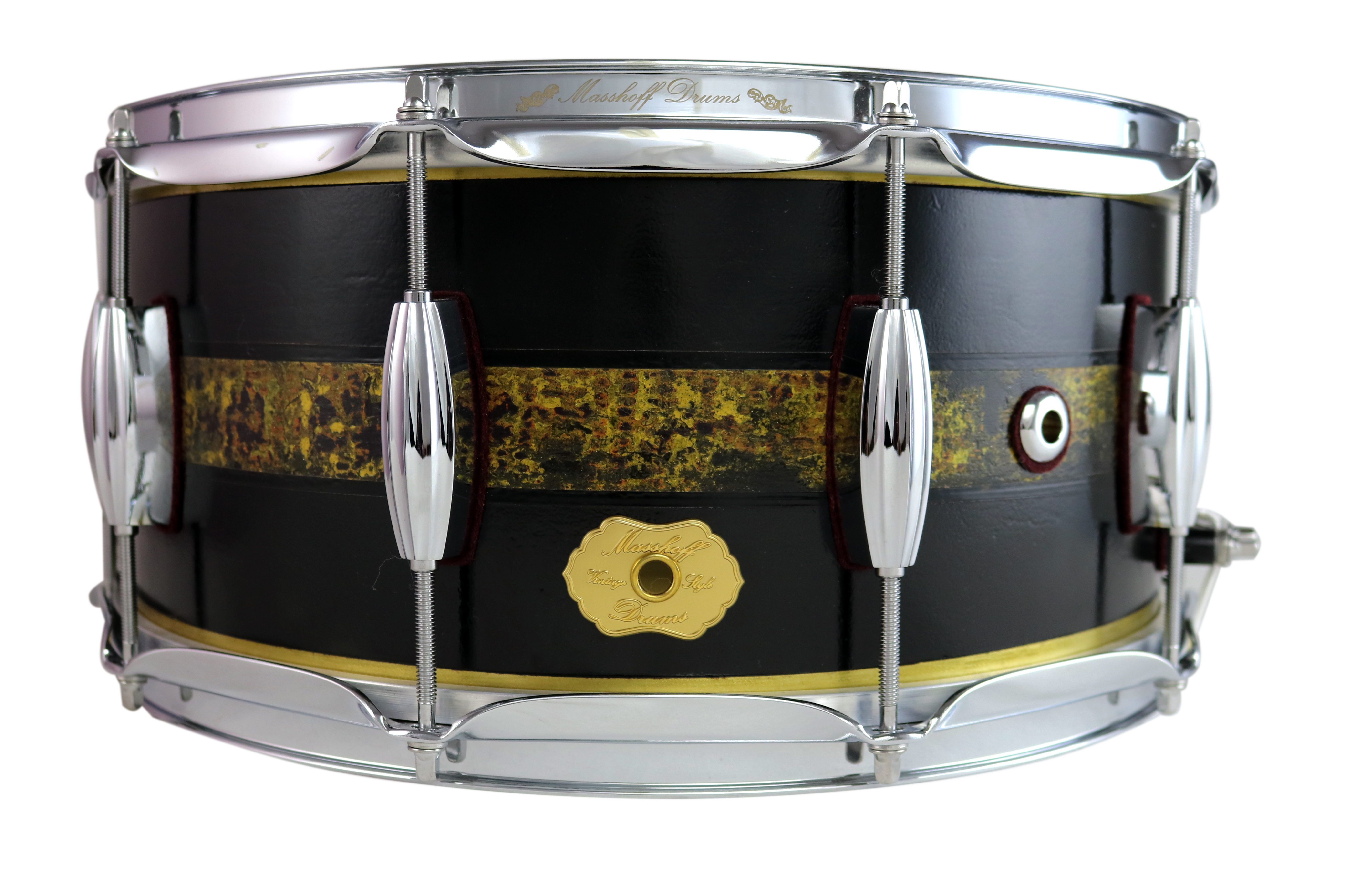 "Masshoff Drums 14""x 6.5"" Messing Snare Drum ""Avalon Brass / Duco King"" 00061"