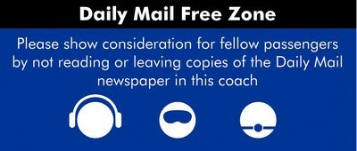 Daily Mail stickers (single)
