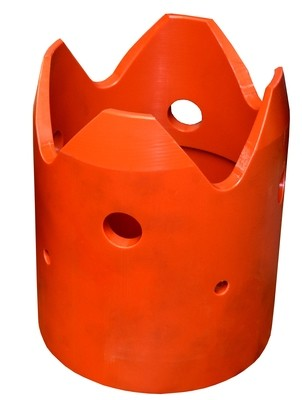 Dura Tube™ Polyethylene (Orange) Crowns