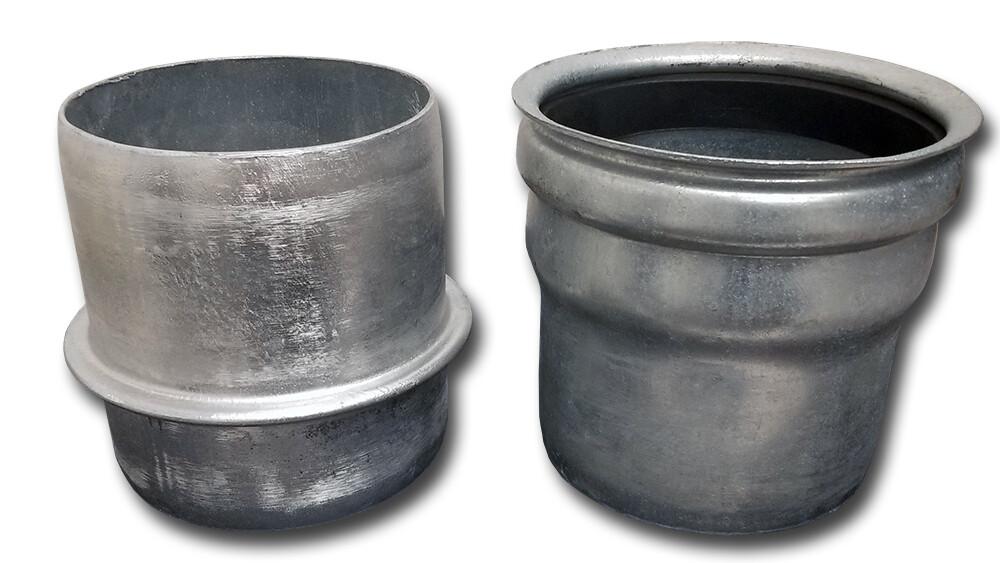 Bandlock® / Western®  Style Steel Hose End Fittings